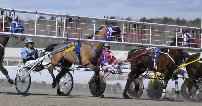 Harness racing at Scarborough Downs would relocate to Biddeford if voters approve a ballot question allowing slots at the proposed new facility.