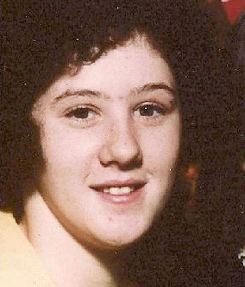 Rita St. Peter in an undated file photo. She was 20 at the time of her death when her body was found off the Campground Road in Anson on July 5, 1980.