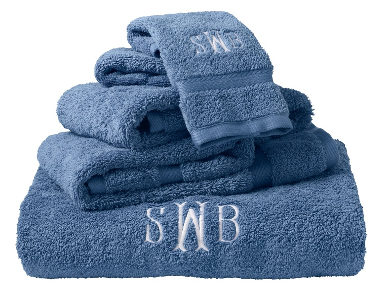 Prices for L.L. Bean's Utra-Absorbent Cotton Towels range from $12.95 for washcloths to $29.95 for bath sheets. They can be monogrammed for an additional charge.