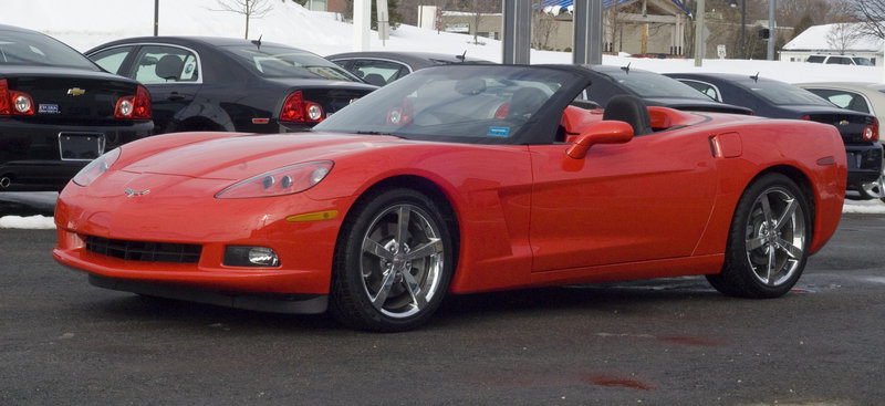 The winning raffle ticket for this 2010 Chevrolet Corvette with a suggested price of $65,720 will be drawn Sept. 15.