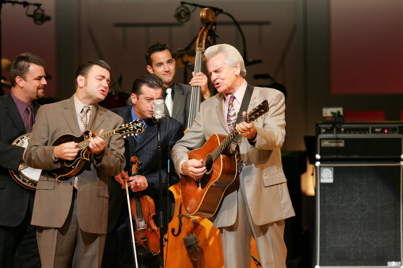 """The Del McCoury Band is among the featured acts at """"Where the Music Meets the Sea,"""" the bluegrass festival that wraps up today at Thomas Point Beach in Brunswick. Gates open at 9 a.m."""