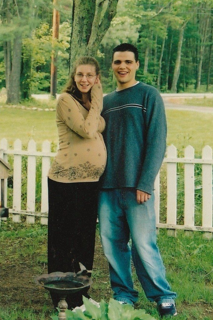 Shannon Paul, formerly of York, is shown with her husband, Eric, in 2003.