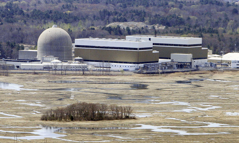 Only two U.S. nuclear power plants are required to routinely review the risk of an earthquake. The Seabrook nuclear power plant in New Hampshire, above, is among the other 102.