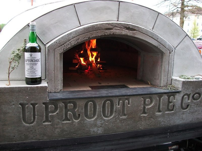 Jessica Shepherd's Uproot Pie Co. oven, which she'll bring this fall to farmers markets in Camden, Rockland and Union.
