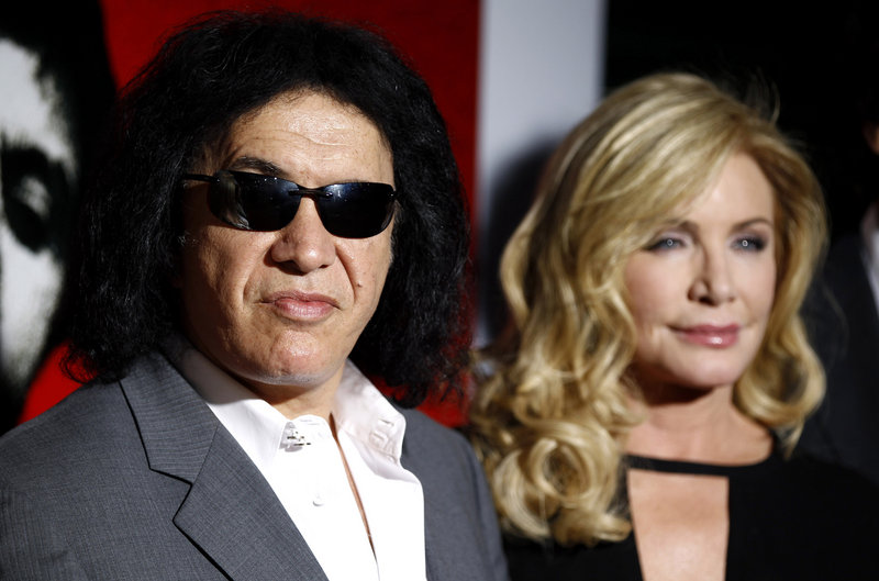 Gene Simmons and Shannon Tweed have two children, ages 22 and 18. His proposal in Belize was filmed for his reality TV show.