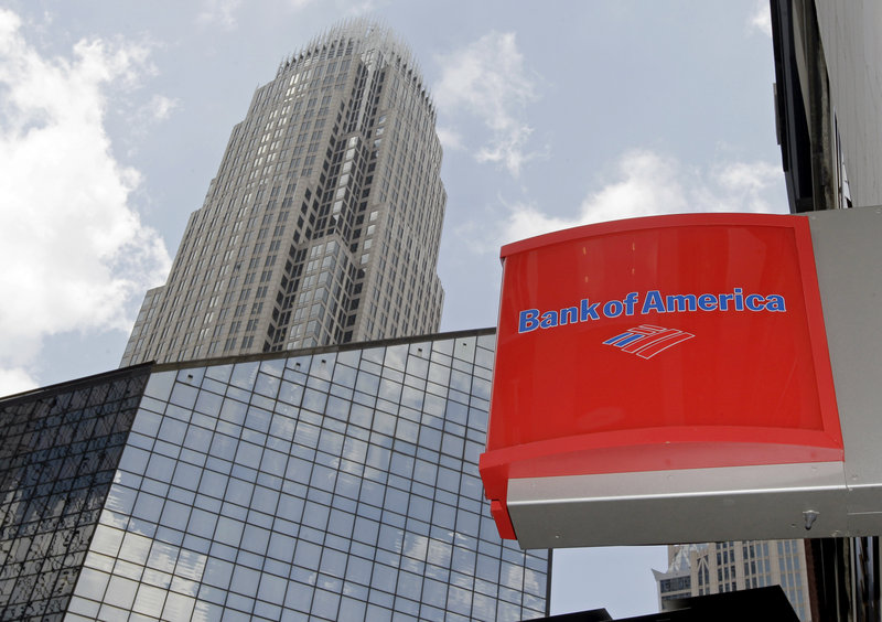 Bank of America's headquarters are shown in Charlotte, N.C. It is among 17 institutions the U.S. government is suing, contending they violated federal and state laws in the sale of home mortgage-backed securities.