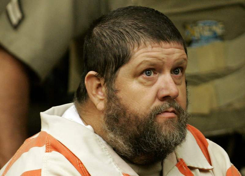 Robert Stewart appears in court in 2009. Stewart was convicted of second-degree murder for killing eight people at a nursing home.