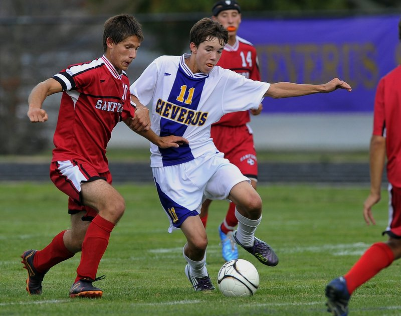 Eliot Maker figures to be a key component for Cheverus as he scored 15 goals for the Stags in 2010 during his junior season.