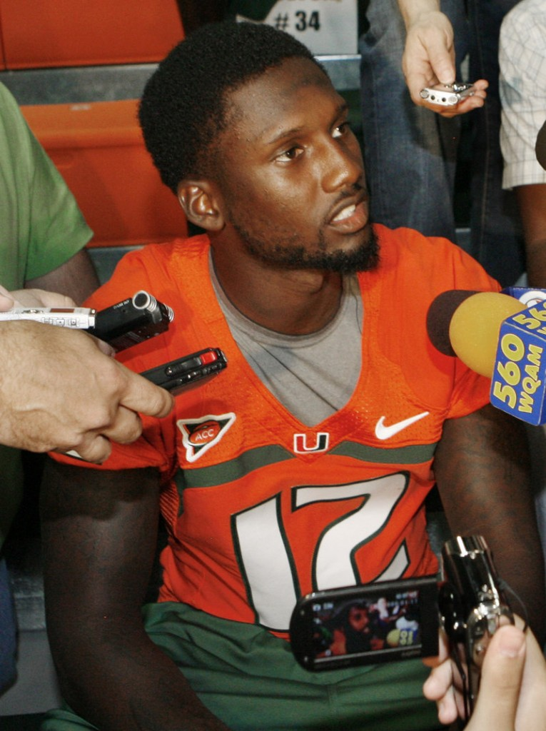 Jacory Harris, who sat out Miami's first game due to an NCAA suspension, will start at QB on Sept. 17 vs. Ohio State.