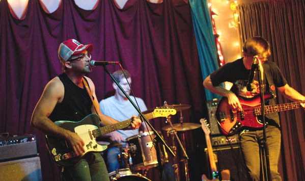 Splendora Colt is named for the simple facts that leader Wes Hartley is from Splendora, Texas, and loves horses. The band plays Space Gallery on Sunday.