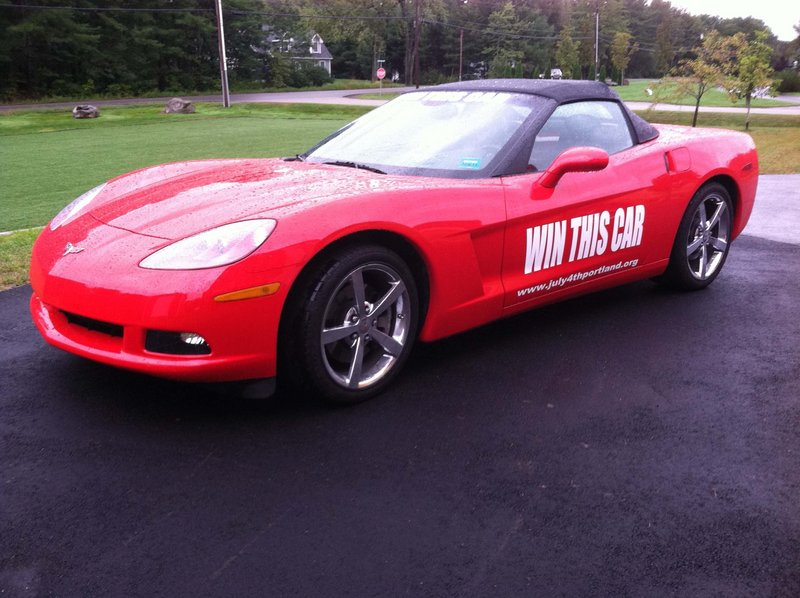 Since its introduction nearly 60 years ago, Chevrolet's Corvette has reigned as America's sexiest automotive icon. On Thursday, someone is going to own a piece of Americana when they win this gorgeous 2010 Corvette convertible that is being raffled off to support Portland's annual July 4 celebration.