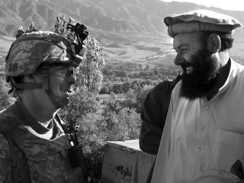 It's June of 2010. I'm on a mountaintop lookout on the eastern edge of Afghanistan manned by the Maine Guard's Bravo Company, 3rd Battalion, 172nd Mountain Infantry.