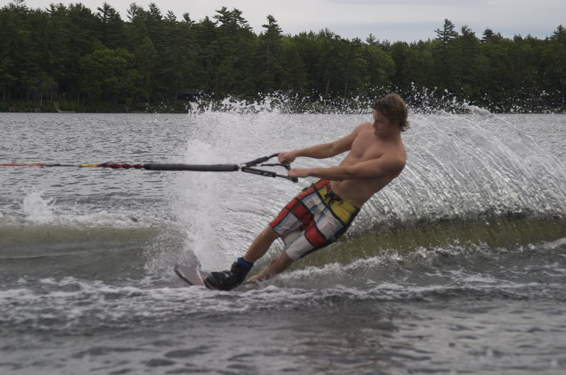Kevin Jack fell in love with water skiing at age 8 and began working with a professional coach in Brooksfield, N.H. He started competing in events at age 13.