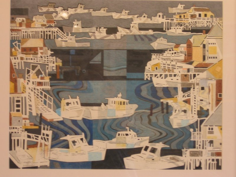 A new exhibition of the colored-pencil work of John Wissemann is on view through Oct. 26 at Gold/Smith Gallery in Boothbay Harbor.