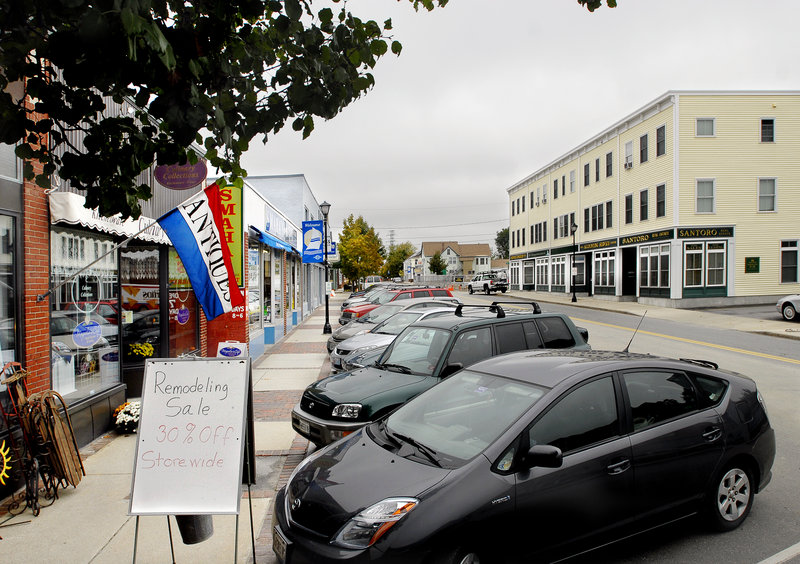The types of businesses that line streets such as this one in Knightville don't produce all the jobs Maine needs, a reader says.