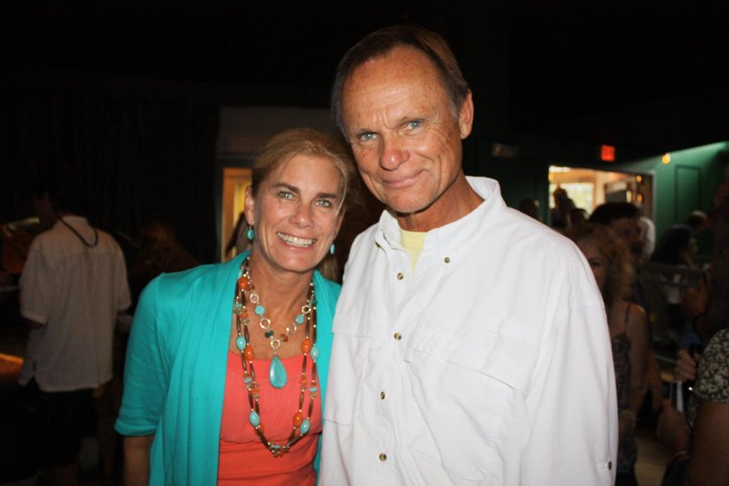 Sandy Edwards and singer/songwriter Jonathan Edwards, who live in Cape Elizabeth.