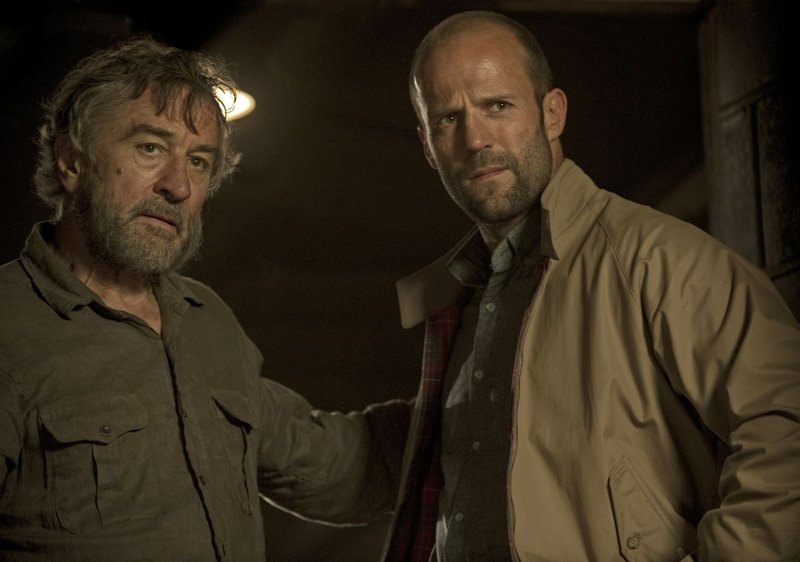 "Robert De Niro, left, is a hostage and Jason Statham his would-be rescuer in ""Killer Elite."""