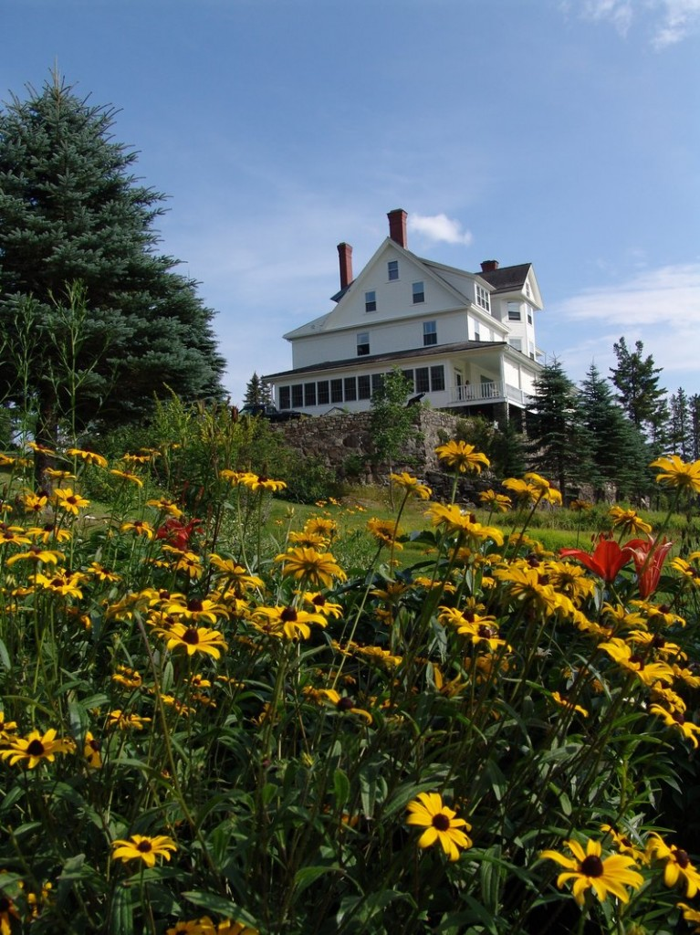 The Blair Hill Inn in Greenville was built in 1891, and was once part of a 2,000-acre breeding farm for cattle and sheep.
