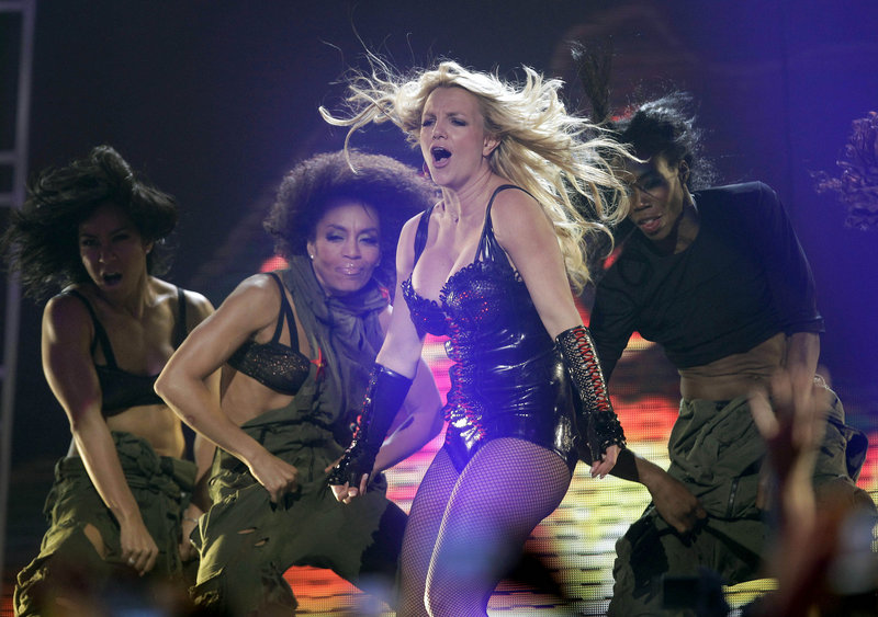 """Singer Britney Spears performs on ABC's """"Good Morning America"""" show at the Bill Graham Civic Auditorium in San Francisco last March. Spears will celebrate her 30th birthday on Dec. 2."""