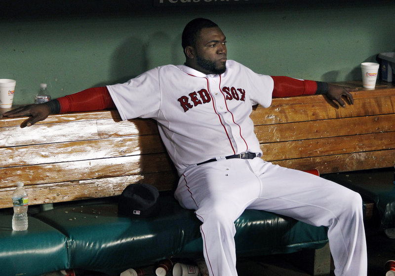 David Ortiz has seen some tough times during his nine years with the Boston Red Sox, but nothing that matched the team's epic 2014 collapse in September.
