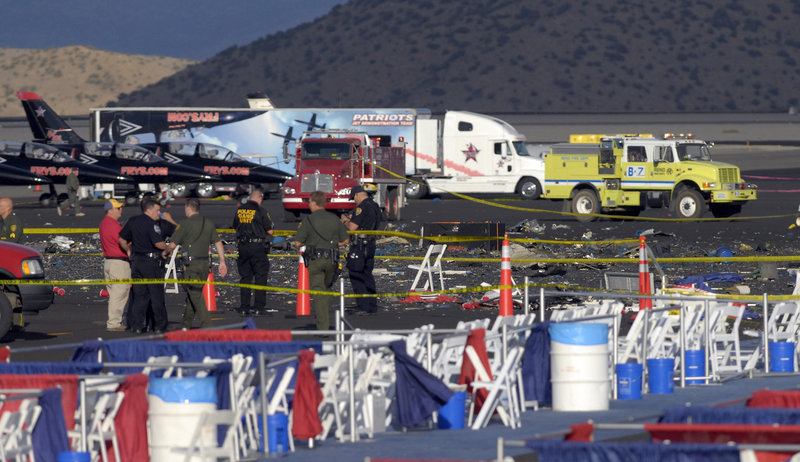 A plane crash at the Reno Air Races on Sept. 16 was one of three deadly tragedies to strike the area in recent months.