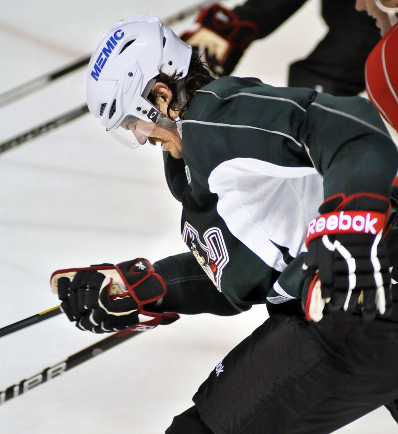 Ryan Hollweg, a veteran of the Coyotes' system, says the club likes to bring in several candidates for few openings to bump up the sense of competition among players.