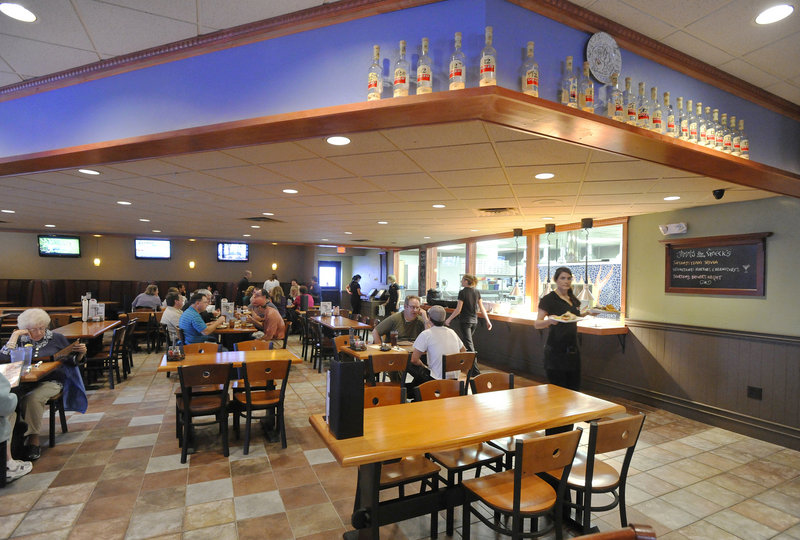 Jimmy the Greek's occupies the former Sebago Brewing Co. at the Maine Mall.