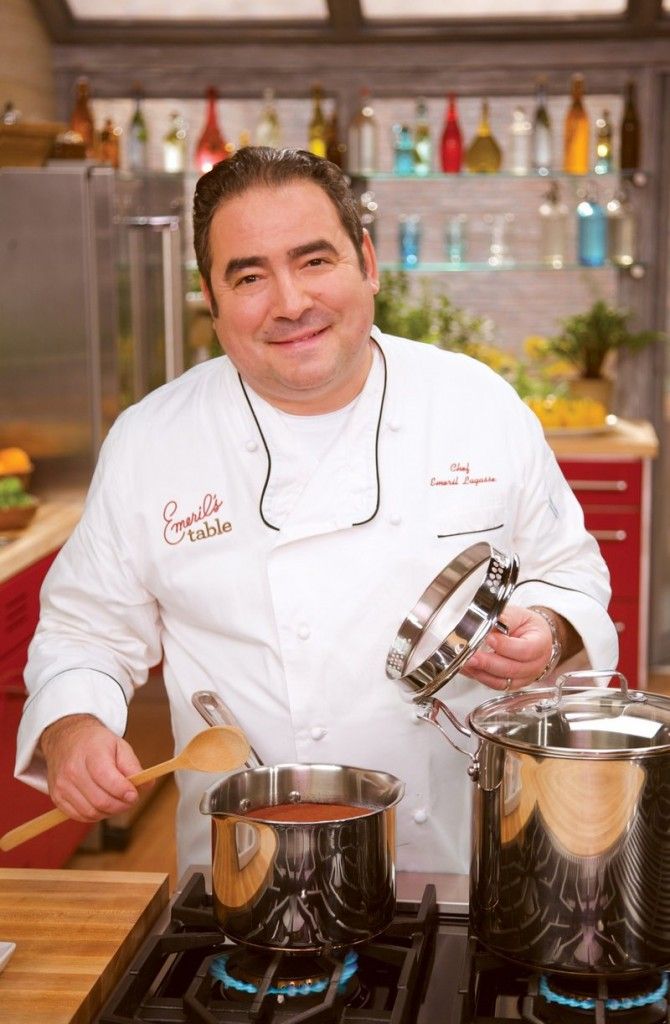 Emeril Lagasse was a protege of Ines De Costa.