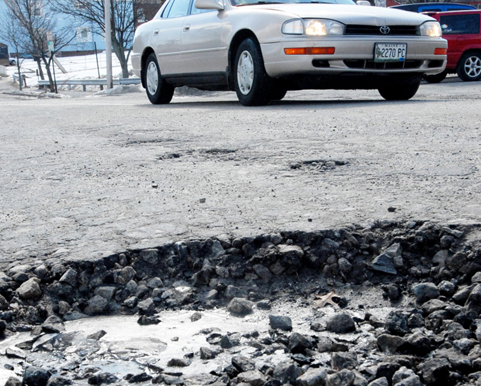 Potholes and crumbling shoulders are not just a nuisance, but they hinder economic growth and threaten public safety.