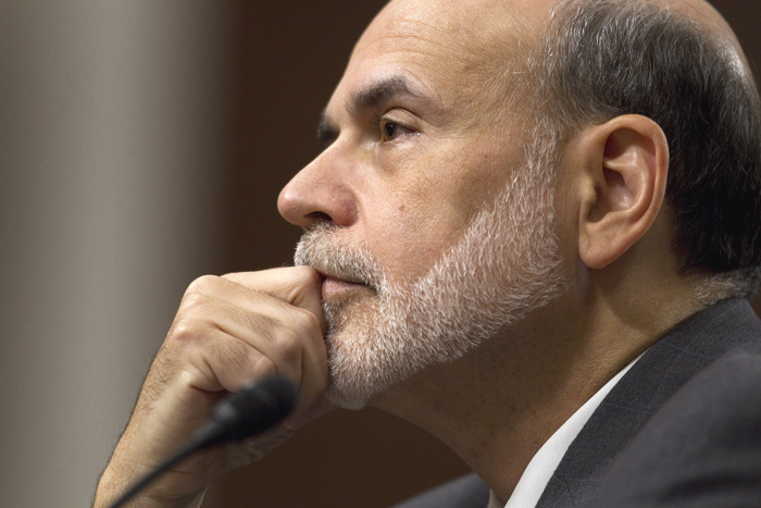 Federal Reserve Board Chairman Ben Bernanke testifies on Capitol Hill today before the Joint Economic Committee hearing on the economic outlook.