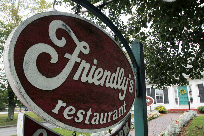 Friendly's restaurant in Freeport is among the 63 stores being closed.
