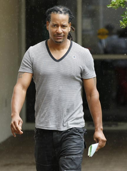 Former baseball star Manny Ramirez leaving the Broward County Jail in Ft. Lauderdale, Fla., on Sept. 13, 2011, after being arrested on a charge of domestic battery.