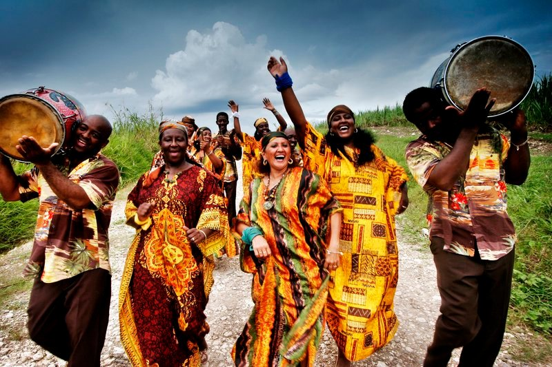 The Creole Choir of Cuba performs at Merrill Auditorium in Portland on Oct. 14.