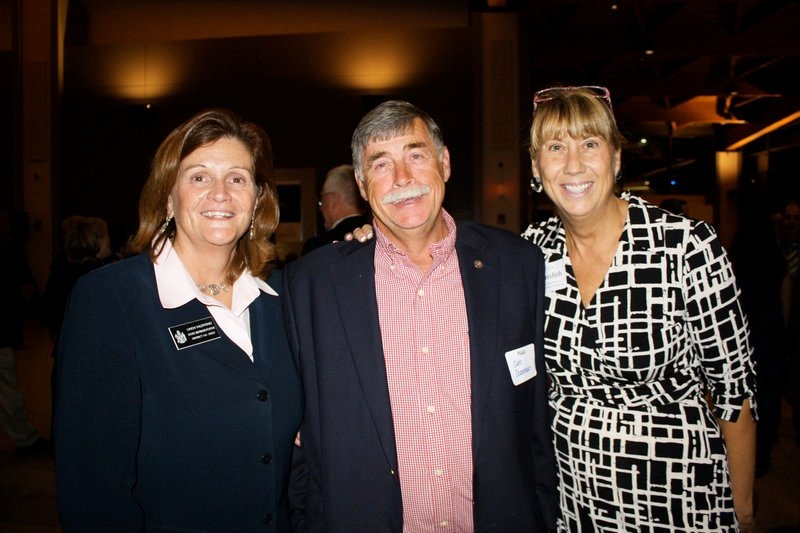 State Rep. Linda Valentino, Curt Scamman and state Rep. Meredith Burgess, who heads Burgess Advertising & Marketing, which handles advertising for the Jetport.