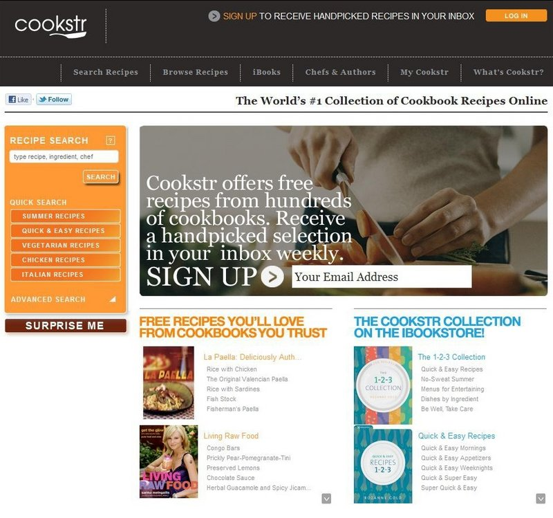 The on-demand nature of sites like Cookstr is allowing people to explore cuisines more efficiently and cost effectively than buying a whole cookbook. Cookstr has grown from 12,000 users when it launched nearly three years ago to roughly 250,000 unique visitors a month.