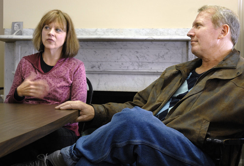 The Rev. David Perkins and his wife, Janet, want to help in the fight against substance abuse.