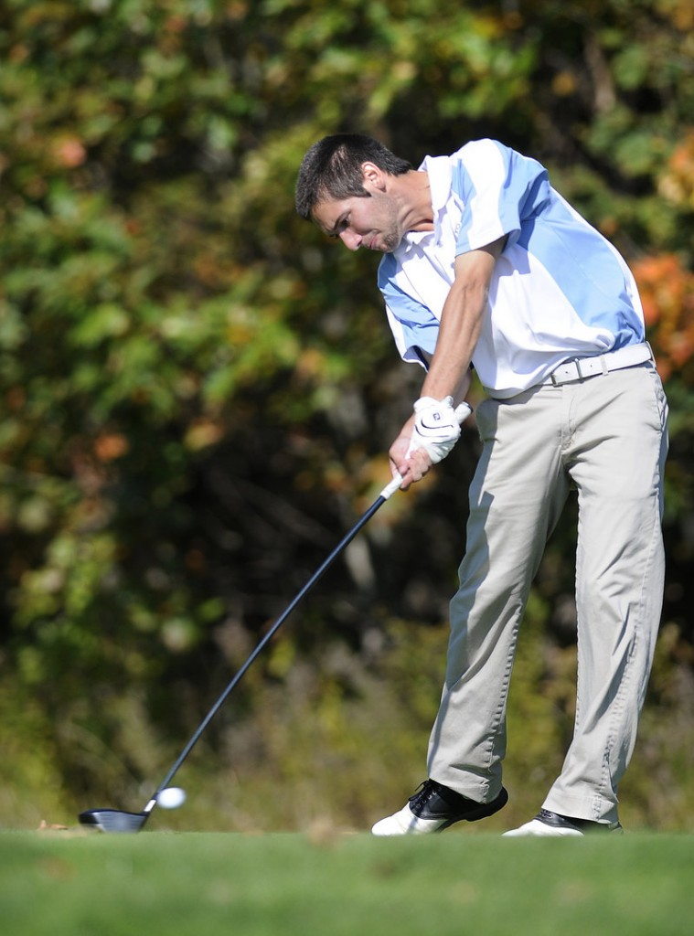 Craig Decato shot a 76 at Natanis on Monday to lead York to the Class B state championship by 16 shots over Yarmouth and 24 over Presque Isle.