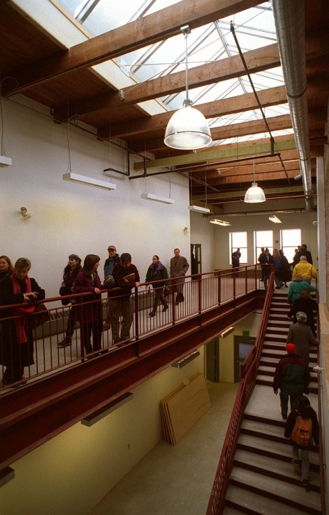 MECA at its grand reopening in the Porteous building.
