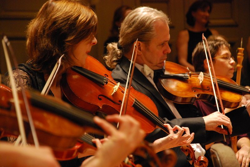 The Handel and Haydn Society performs on Oct. 29 at Hannaford Hall on the University of Southern Maine campus in Portland.