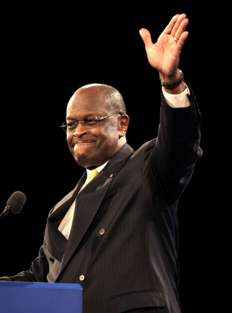 Republican presidential candidate Herman Cain wants to scrap the current tax code and replace it with a 9 percent tax on personal incomes and corporations as well as a 9 percent national sales tax.