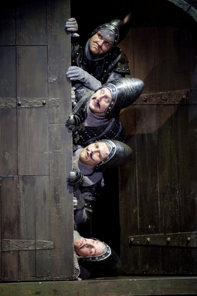 The national tour of Monty Python's 'Spamalot' visits Merrill Auditorium in Portland for performances today and Friday.