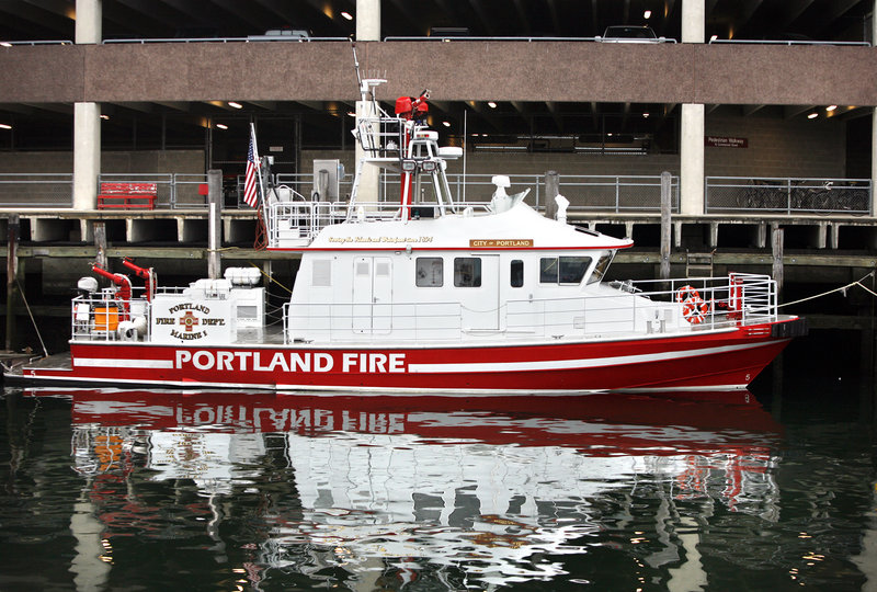 The City of Portland IV sustained $38,000 worth of damage in an accident outside the shipping channel last weekend.