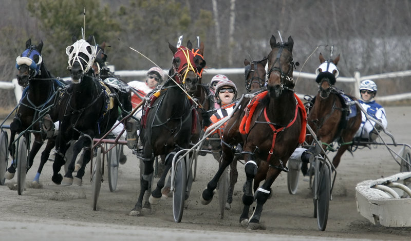 The relationship between casino gambling and harness racing is cited by readers with varying views on the topic.