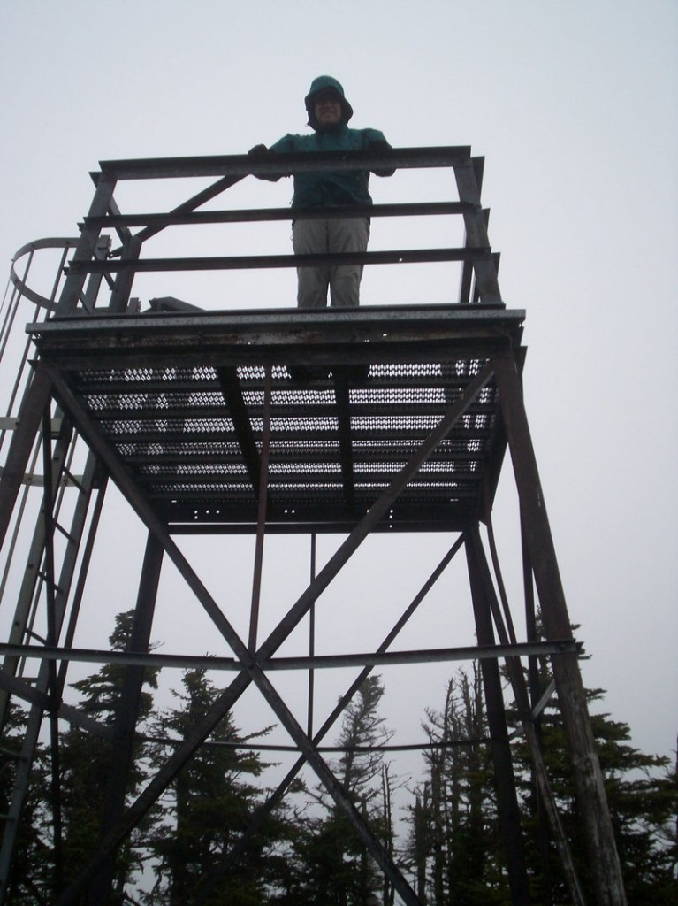 An observation tower offers enhanced views from Coburn Mountain, the site of the ill-fated Enchanted Mountain Ski Area. Numerous trails lead to the 3,718-foot summit.