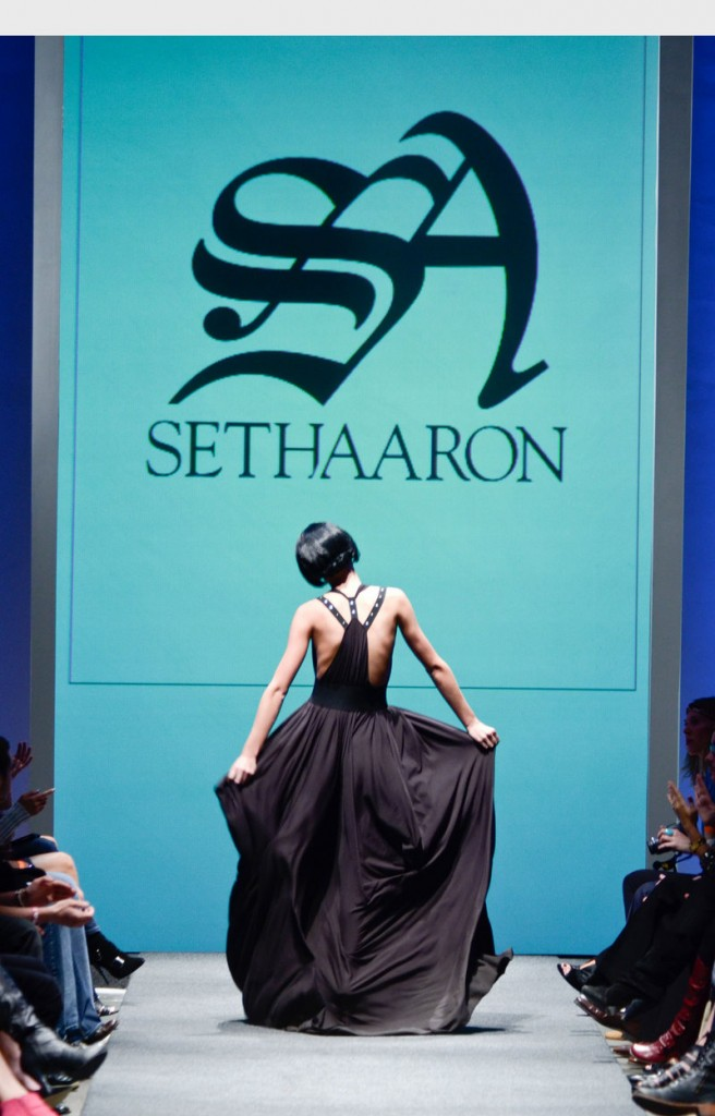 During a jaw-dropping presentation at Fashion Week in Portland, Ore., this month, sustainable lifestyle apparel brand Earthtec unveiled its provocative collaboration with Seth Aaron Henderson.