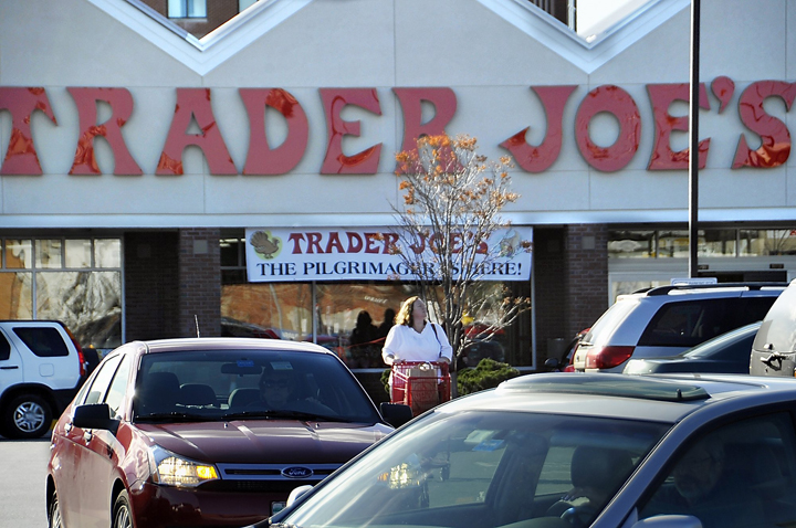 A Nov. 18, 2010, photo of the Trader Joe's in Portland.