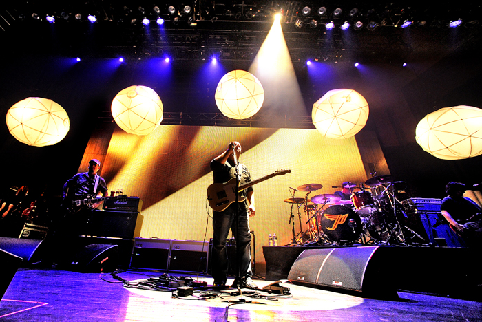 The Pixies played to a sold out State Theatre on Tuesday.