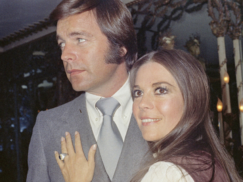 Actress Natalie Wood and her husband, Robert Wagner.