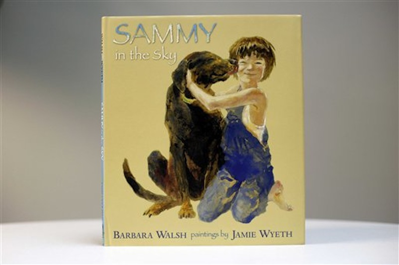 This Nov. 3, 2011 photo shows a copy of the new children's book,