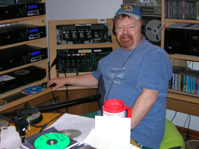 Dave Patterson of Standish, who died last month, was the force behind the community radio station WJZF, 97.1 FM.